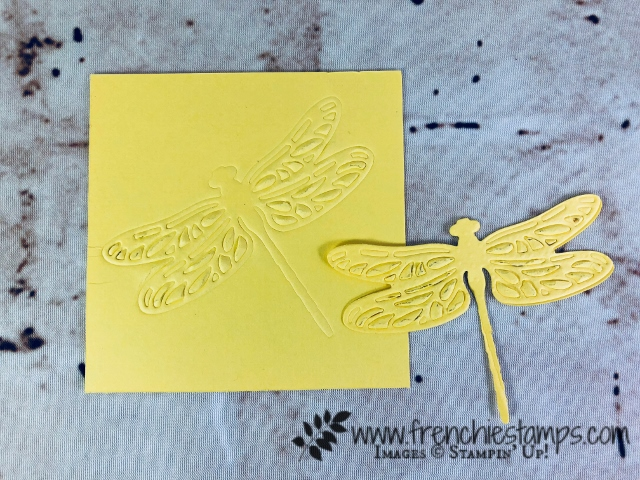 Embossing Mats, Tip Video with Frenchie Stamps, Detailed Dragonfly,  Stampin'Up!