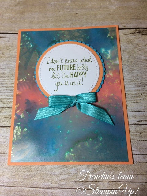 Glossy Paper, Just add Text, Stampin'Up!