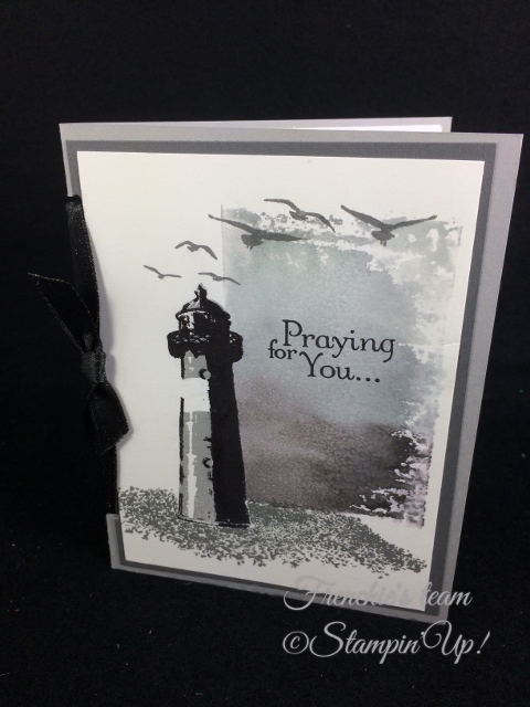 High Tide, Thoughts and Prayers, Stampin'Up!, Frenchie Team