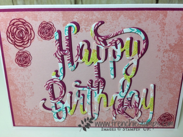 Happy Birthday Note Card Frenchie Stamps