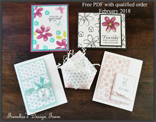 Frenchie's Team Customer Appreciation, Stampin'Up!