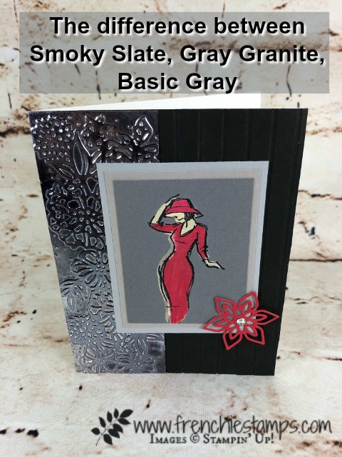 Beautiful You to compare Stampin'Up! Gray Tones