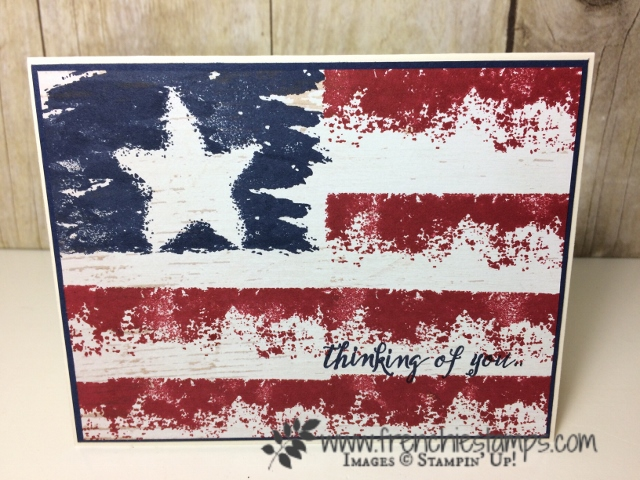 Timeless Textures,  Sunshine Sayings, Memorial Day, USA Flag, frenchiestamps