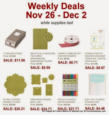 0db38fa5 Deal of the Week plus Holiday sales, Mystery Host - Frenchie Stamps