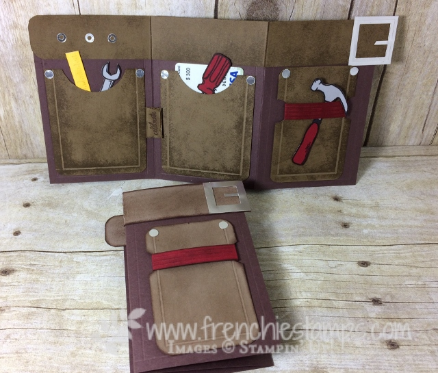 Nailed It, Tool Belt, Stampin'Up!