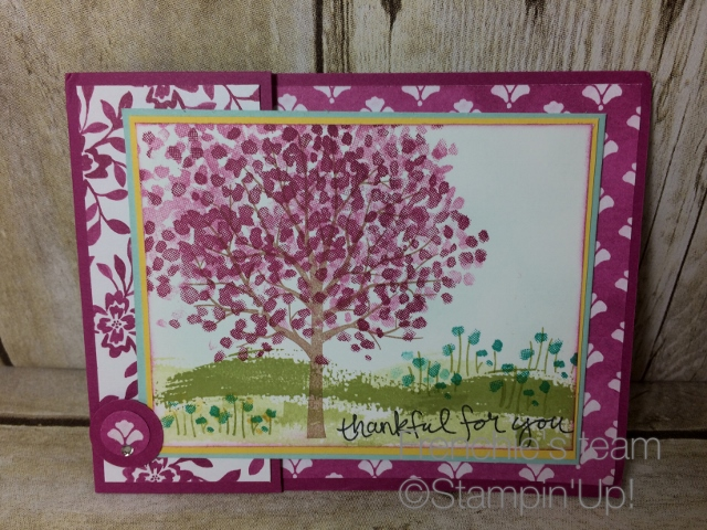 sheltering tree Stampin'Up!