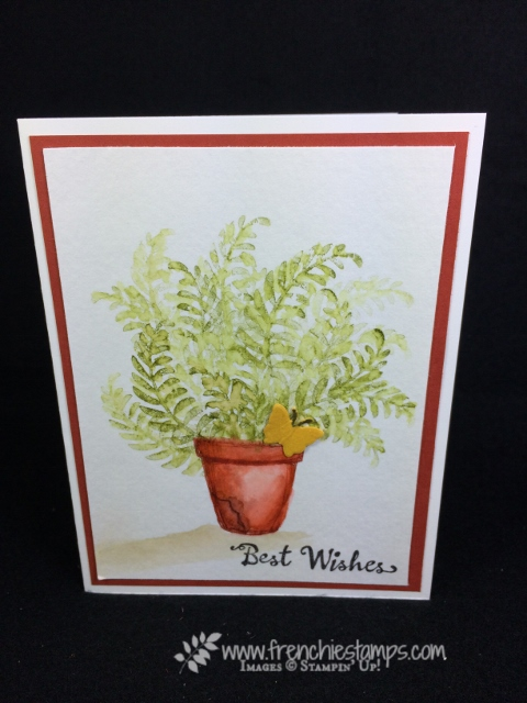 Wild Watercolor, Awesomely Artistic, Birthday Blooms, Crafting Forever, Stampin'Up!