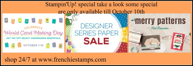October 2017 Stampin'Up! Special