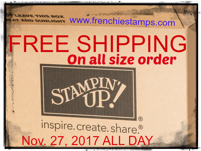 Cyber Monday Free Shipping on all Orders including class in the mail