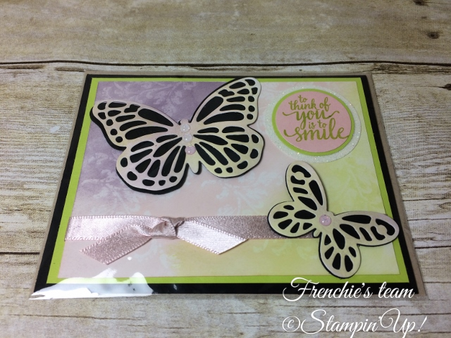 Glossy Paper, Butterfly Thinlits, Stampin'Up!