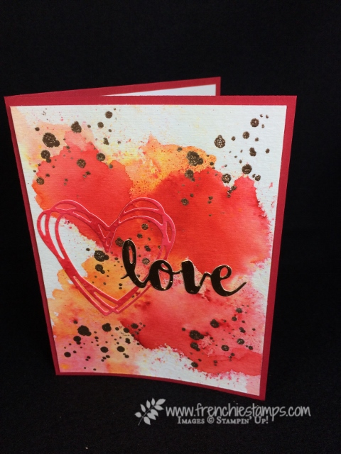 Sunshine Wishes Thinlits Die, Brusho Crystal Color, Valentine, Celebrate You, Stampin'Up!, Frenchie Stamps,