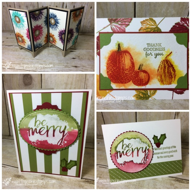 Every Good Wishes, Painted Harvest, Gourd Goodness, Stampin'Up!