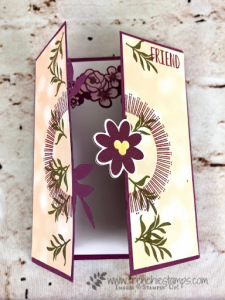 Gatefold Blossoms and Bouquet Blooms