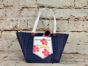 Beach Tote and Summer Cards Live on You Tube