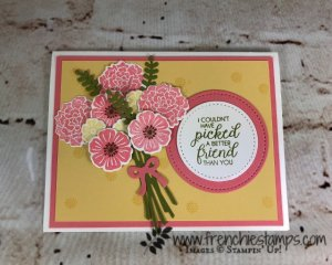 Beautiful Bouquet, Stamparatus, Bouquet Bunch Framelits , Color Chart, Frenchie Stamps, Stampin'Up!,