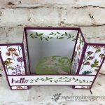 How to make a bridge card with Stampin