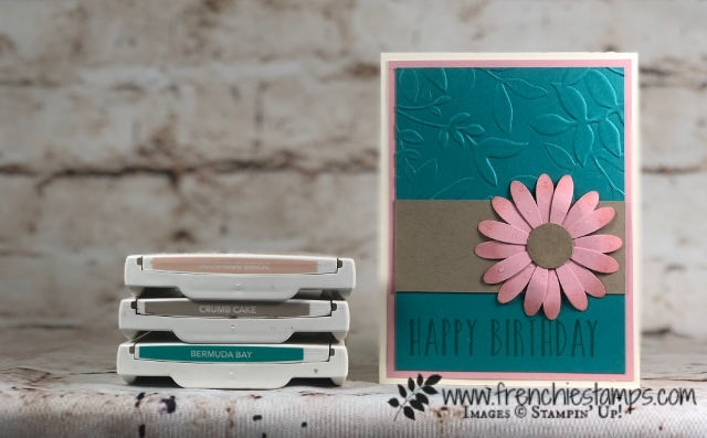 Stampin'Up! Color Coach, Passport Pals Color Coach Club, Frenchiestamps, Daisy Delight