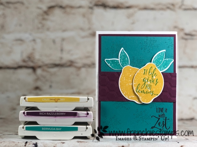 Stampin'Up! Color Coach, Passport Pals Color Coach Club, Frenchiestamps,Lemon Zest,