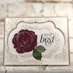 How to nest the Stitched Seasons Framelits to make 3 card with only one pass through the big shot. Stamp set of choice is Healing Hugs. All product are from Stampin