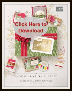 Stampin'Uo! 2018 Holiday Catalog