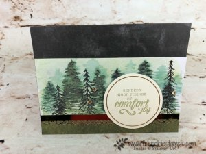 see how quick it is to make the Timeless Tidings card kits. This is the most beautiful Christmas card kit I seen in a long time. All product by Stampin'Up! and can be purchase at frenchiestamps.com