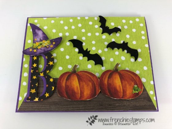 Boo Card with Toil & Trouble
