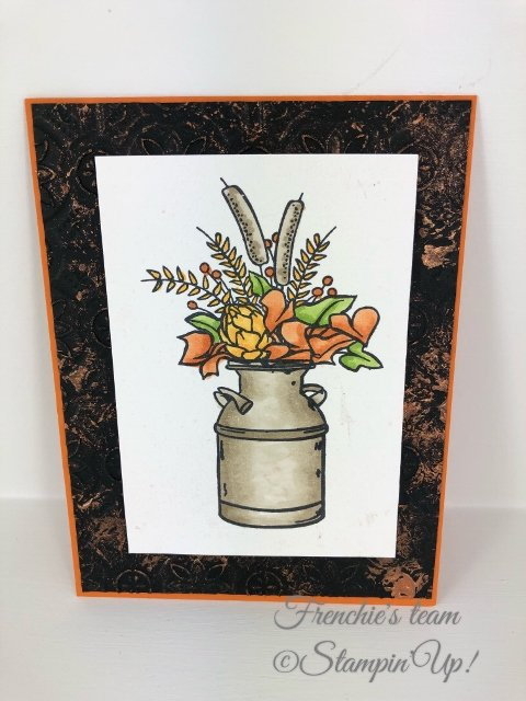 Fall Cards by Frenchie's Team