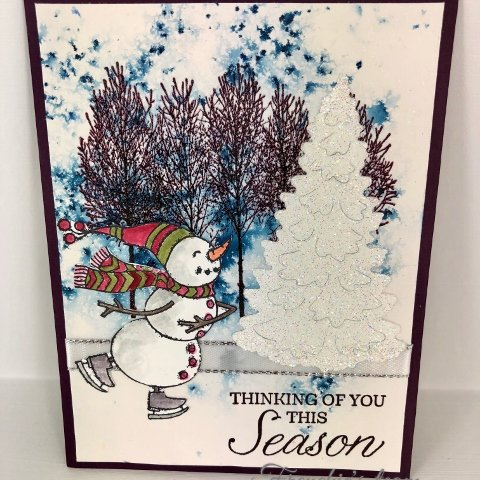 Christmas Cards by Frenchie's Team