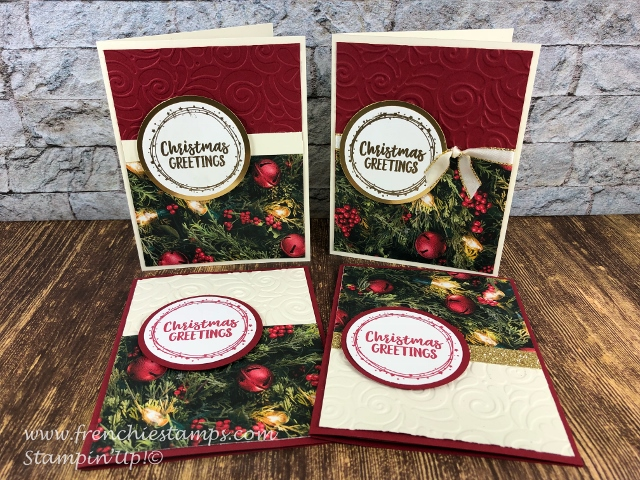 12 Christmas cards in 30 minutes