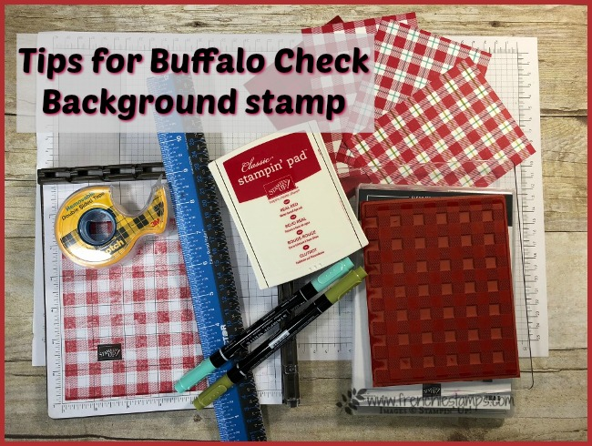 Tips and more for the Buffalo Check