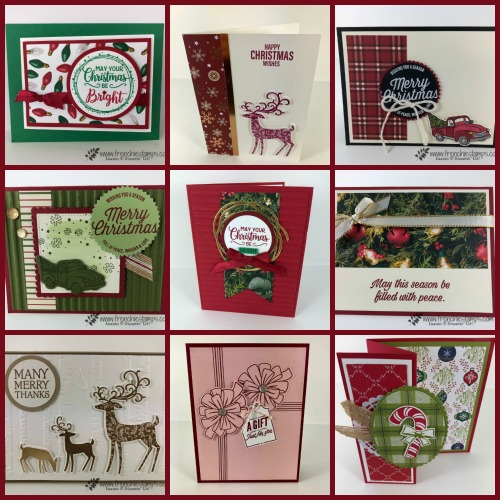 12 Christmas Cards for you