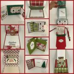 Chrstimas Gift Card holder. All design by Frenchie team. All pruduct by Stampin
