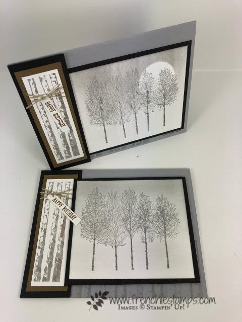 Soft Winter Wood Masculine Card