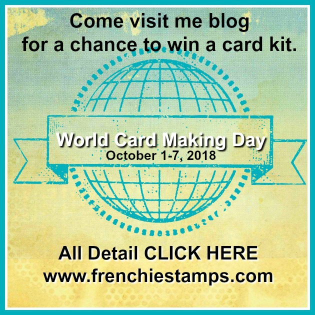 Wold Card Making promotion by Stampin'Up!. shop the deal at frenchiestamps.com