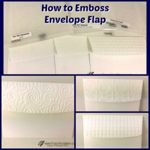 How to Emboss a Envelope Flap