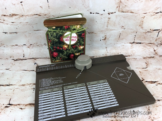 Greeting card that look like a canning jar. Using the envelop punch board. All products by Stampin'Up! available at frenchiestamps.com