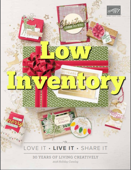 Holiday Catalog Low Inventory