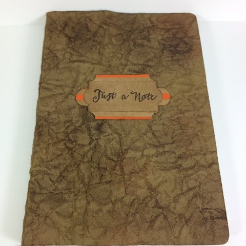 Faux Leather Note Book