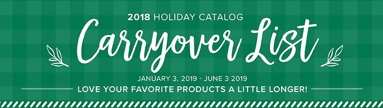 Stampin'Up! Holiday products that are still available to purchase at frenchiestamps.com