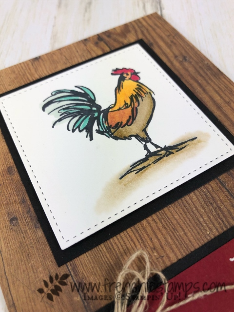 Sale a Bration with Stampin'Up! equal free products. The home to roost can be yours for FREE with qualified order at frenchiestamps.com