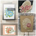 Lovely Lattice simple and detail. This set is part of Stampin