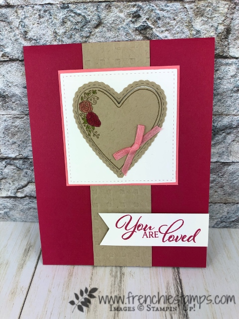 Meant to Be bundle. Not only for valentines. Products by Stampin'Up! available at frenchiestamps.com
