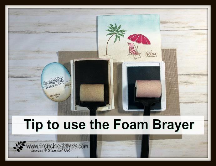 Tip with the Foam Sponge Brayer