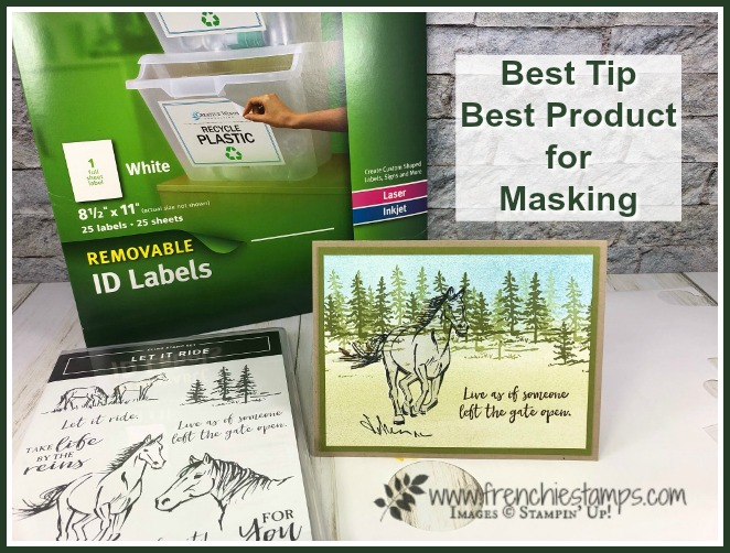 Best tip and product for masking