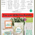 Enter to win the Well Said Bundle at frenchiestamps.com.