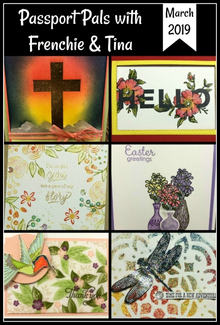 Easter card, Spring cards and many technique. Humming Along, Hold on to Hope, Fable Friends, Dragonfly Dream, Vibrant Vases, Floral Statements and more. All Stampin'Up! products available at frenchiestamps.com