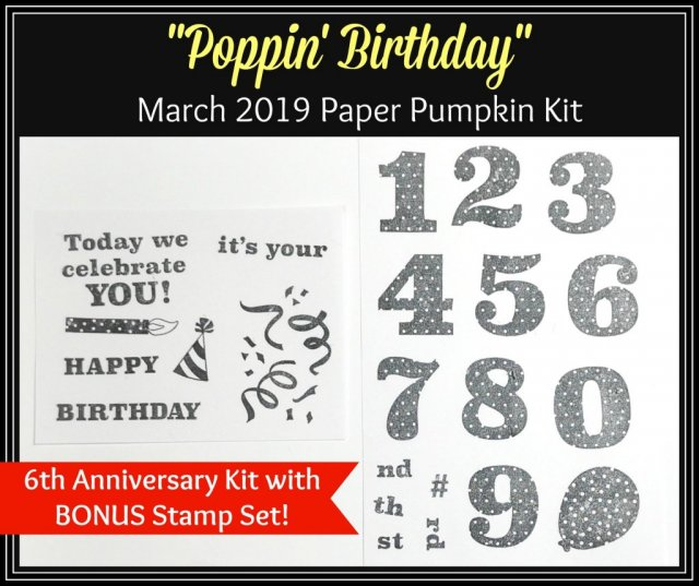 Paper Pumpkin stamp set. Great value stamp set in the monthly kit. Subscribe to paper Pumpkin at frenchiestamps.com