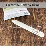 Tip for the backer