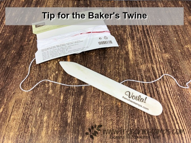 Tip for Baker's Twine