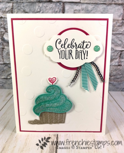 Hello Cupcake sale a bration stamp set by Stampin'Up! available at frenchiestamps.com